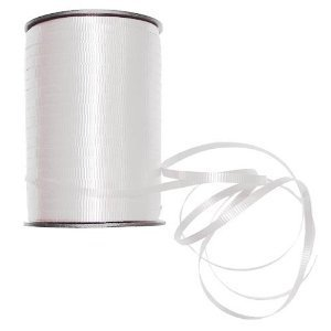 500 yd. White Curling Ribbon
