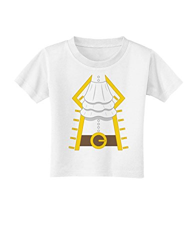 Pirate Captain Costume Gold Toddler T-Shirt