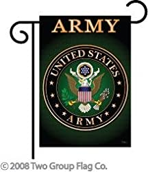 "Army Indoor/ Outdoor Sublimation Garden Flag 13"" X 18.5"" 58055"