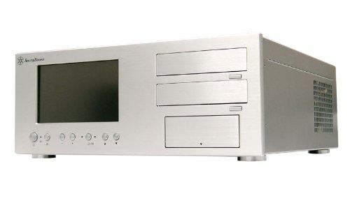 SilverStone LC18S-V64 Aluminum ATX Media Center/HTPC Case - Retail (Silver) (Media Center Htpc Case compare prices)