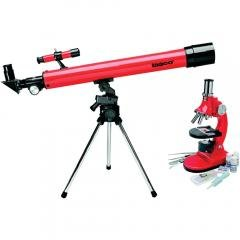 Educational Science Astronomy Combination Telescope And Microscope Set