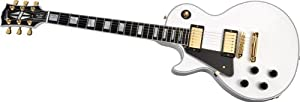 Gibson Custom Shop LPCLAWGH1 Les Paul Left Handed Electric Guitar, Alpine White review buy baptism info other related content