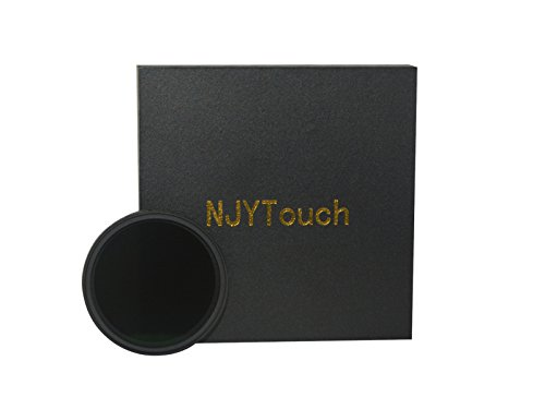 NJYTouch 52mm ND Filter Neutral Density Filter Slim Variable Fader ND2-ND400 Adjustable ND2 ND4 ND8 ND16 ND32 to ND400 (Singh Ray Variable Nd Filter compare prices)