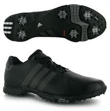 2011 Adidas Golflite Grind 3.0 Golf Shoes Black 7.5 UK