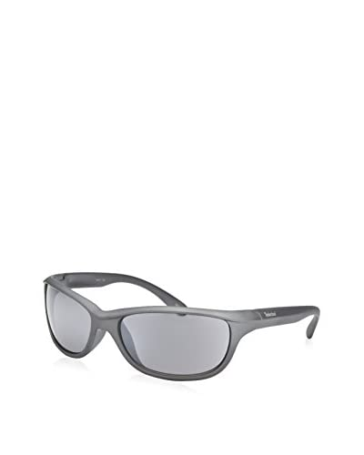 Timberland Men's TB7050 Wrap Sunglasses, Gray/Gray Gradient