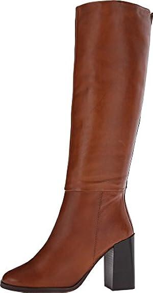 Steve Madden Women's Kaizerr Cognac Leather Boot 7 M