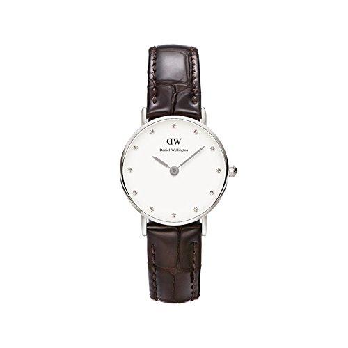 Daniel Wellington 丹尼尔?惠灵顿 0922DW 女式 经典摩登系列 施华洛世奇水晶 时尚超薄手表图片