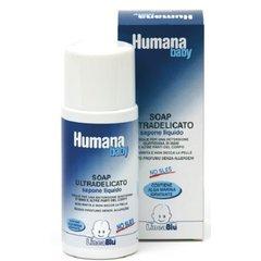 Humana - Detergente Liquido Per Bambini Humana Baby Lineablu Soap Ultradelicato 1 Lt