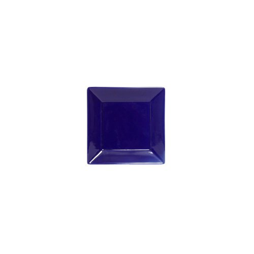 "Tuxton Bch-0845 8.5"" Square Series Cobalt Blue Plate - 12 / Cs"