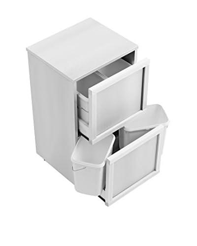 Arredamenti Italia Cubo De Basura 874 Blanco