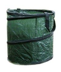 Videx 22121 PE- Pop up Gartenabfall-Tragetasche, rund, grün