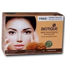 Biotique BioSkin Tightening Facial Kit Give Youthful Glow, 75g (Kit)