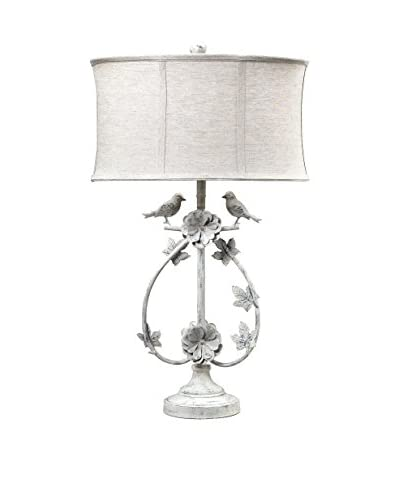 Artistic Lighting Table Lamp, Antique White