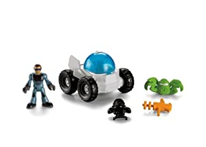 Imaginext Space Station Shuttle Accessory - Moon Rover Vehicle & Mini Figure