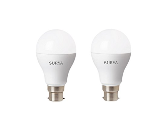 Surya Neo 9W LED Bulb (White, Pack Of 2)