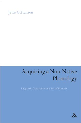 Acquiring a Non-Native Phonology: Linguistic Constraints and Social Barriers