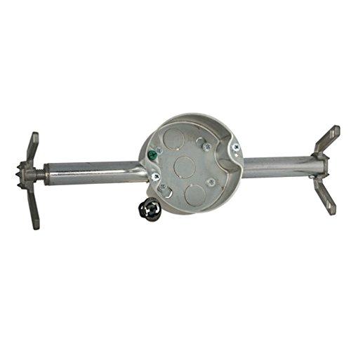 Raco 0936 Ceiling Fan Box w/Brace, 1-1/2