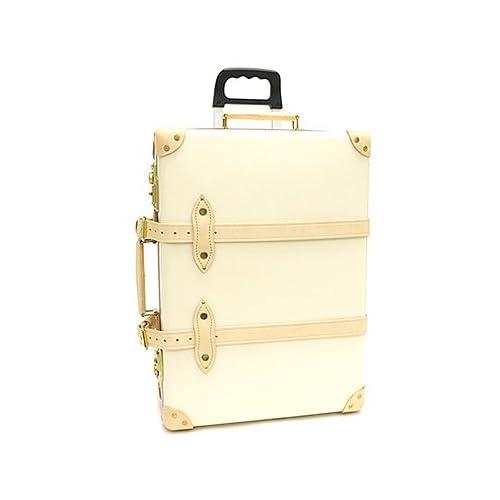 グローブトロッター スーツケース 21インチ GLOBE TROTTER Safari 21Trolley Case サファリトロリーケース GTSAFIN21TC 2輪キャリーケース Ivory/Natural [並行輸入品]