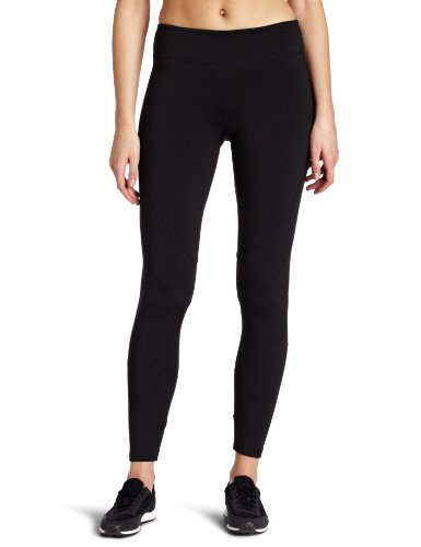 Fila Women's Women's Toning Resistance Long Tight, Black, Medium