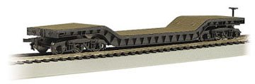 Bachmann Trains Center-depressed Flat Car with No Load