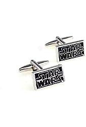 Star Wars Movie Cufflinks - Black