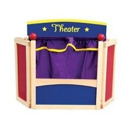 Guidecraft Center Stage Tabletop Puppet Theater by GuideCraft