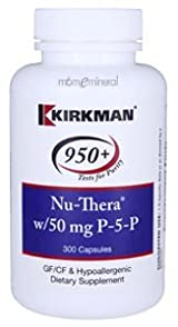 Nu-Thera w/ 50 mg P-5-P 300 Capsules by Kirkman Labs