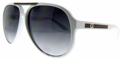 Gucci GG1627/S Sunglasses - 0VK6 White (JJ Grey