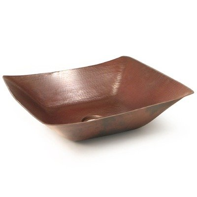 Del Mar Copper Vessel Sink Finish: Dark Smoke Copper