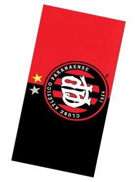 Clube Atletico Paranaense 01, Brazilian Soccer Team, Velour Beach Towel 30
