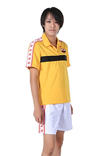 WS_COS Prince of Tennis Rikkai University High School Summer Sport Outfit Kid S