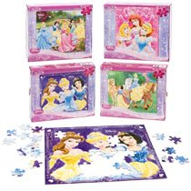 Disney Princess 100 Piece Jigsaw Puzzles - 1