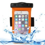 Universal-IPX8-Certified-to-10m-Waterproof-Carrying-Case-with-Touch-Responsive-Front-Arm-Band-for-iPhone-6(Orange)