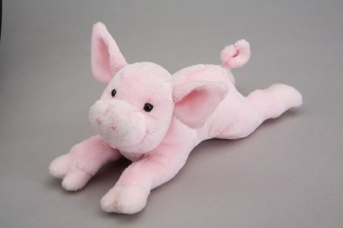 "Rouge Pig Plush Toy 9"" L - 1"