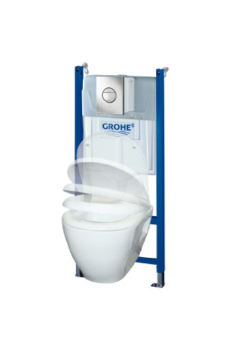 Grohe pack b ti support solido perfect 38950000 import - Wc suspendu grohe solido ...