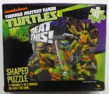 Teenage Mutant Ninja Turtles 48 Piece Shaped Puzzle ~ Beat This - 1