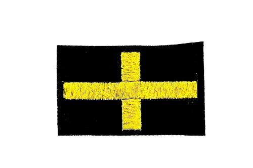 Patch logo ricamato-Zaino, bandiera inglese, San david termoadesivo stemma