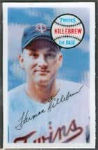 1970 kellogs 3D (baseball) Card# 61 harmon killebrew of the Minnesota Twins NrMtBtr Condition
