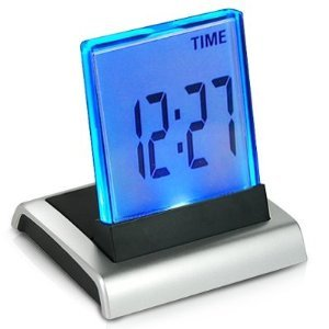 Innoo Tech**7 Color Change LED Digital LCD Desktop Design Alarm Clock Thermometer
