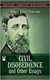 Civil Disobedience and Other Essays Publisher: Dover Publications