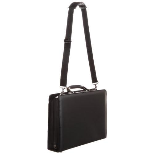 [アイエスプラス] is・+ IS+ 36cm アルミ手ハンドルダレスバッグ 日本製 230-1171 1 (ブラック)
