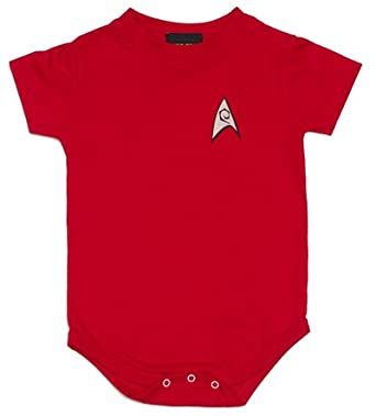 Star Trek Red Shirt onesie