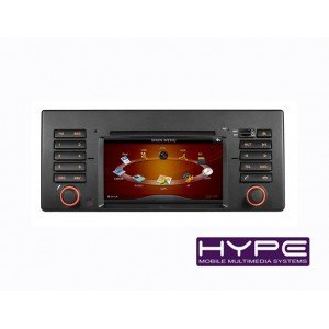 HYPE HSB9202GPS Autoradio GPS Europe DVD USB SD iPod pour BMW X5 E39 E53 M5