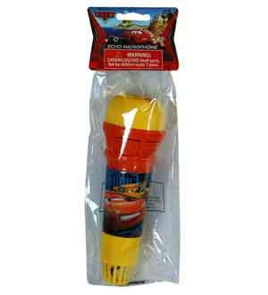 Disney Cars Echo Microphone In Net Bag (6 Piece/Pack) - 26781Car