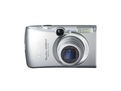 Canon PowerShot SD890IS 10MP Digital Camera with 5x Optical Image Stabilized Zoom