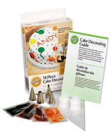 Wilton 18pc Starter Cake Decorating Set