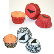 Vampire Icon Mini Cupcake Wrappers