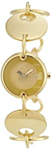 Just Cavalli Women's R7253704017 Circle Quartz Gold Dial Watch