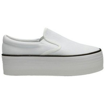 Jc Play By Jeffrey Campbell - Sneaker WTF Zip Canvas / White, Taglia: 38