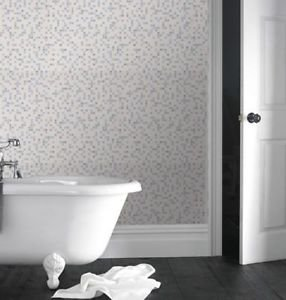 Kitchen and Bathroom Mosaic Checker Wallpaper - C by New A-Brend